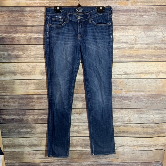 Lucky Brand Denim - Lucky Brand Southport Zoe Straight Jeans 6/28 x 33